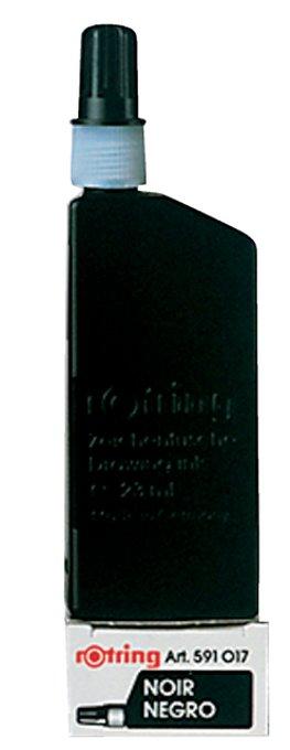 Tekeninkt Rotring 591017 flacon 23ml zwart
