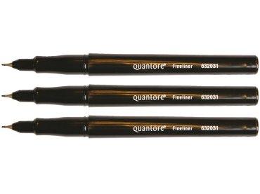 Fineliner Quantore zwart 0.4mm