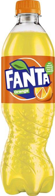 Frisdrank Fanta Orange petfles 0.50l