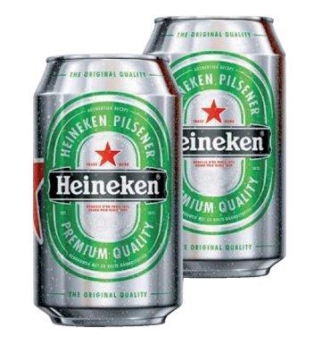 Bier Heineken blikje 0.33l