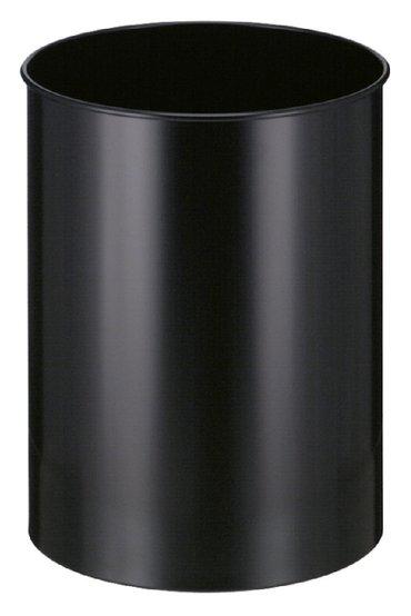 Papierbak Vepabins rond 30liter zwart