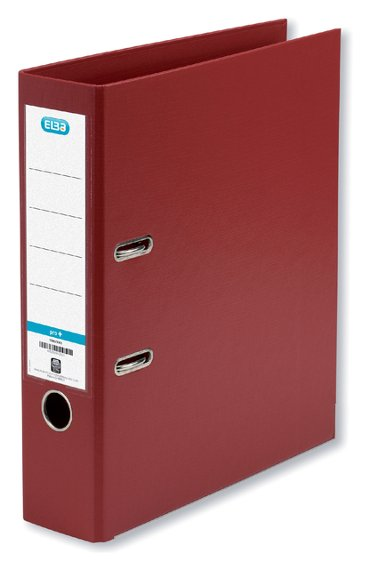 Ordner Elba Smart A4 80mm PP bordeaux