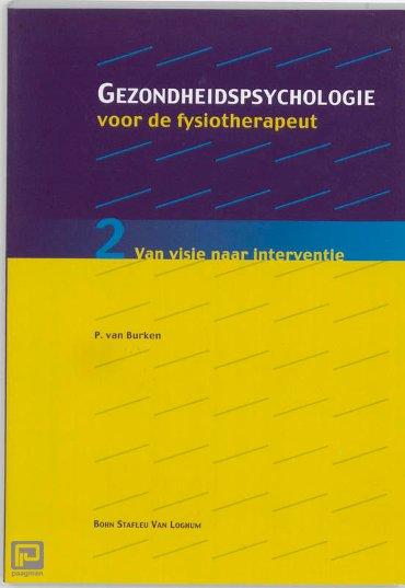 Gezondheidspsychologie voor de fysiotherapeut / 2