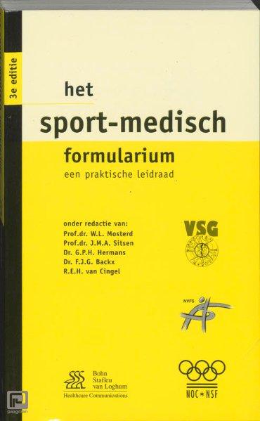 Het sport-medisch formularium - Formularium