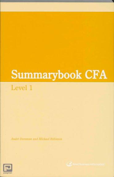 Summary CFA / Level 1