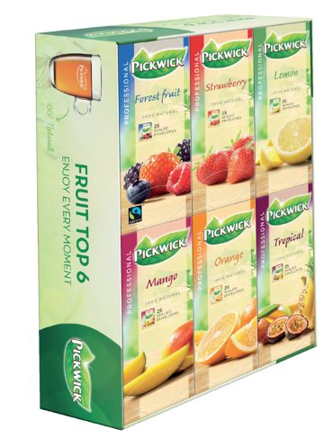 Thee Pickwick multipack original 6x25 zakjes fruit