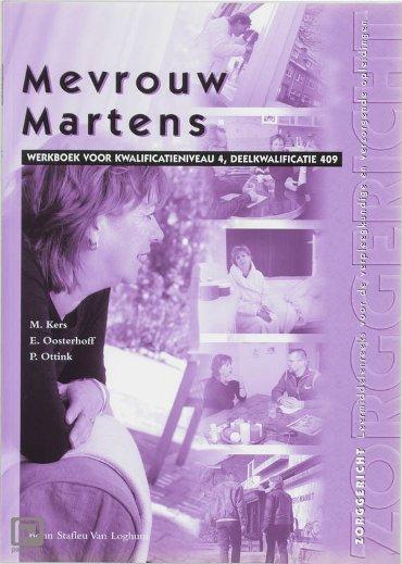 Mevrouw Martens / 4 409 / Werkboek - Zorggericht