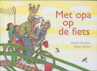 Met opa op de fiets - Clavisje