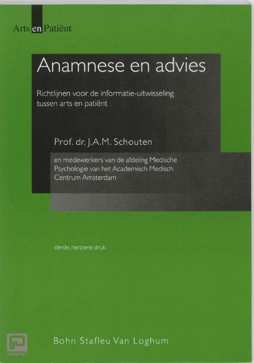 Anamnese en advies - Arts en patient