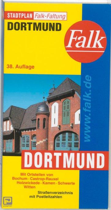 Falk Stadtplan Falkfaltung Dortmund 1: 25 000