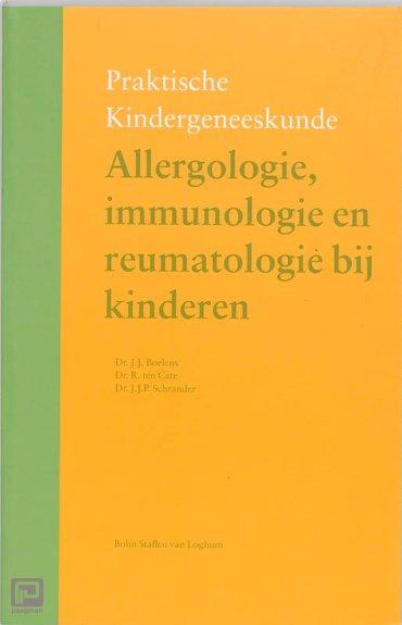Allergologie, immunologie en reumatologie bij kinderen - Praktische kindergeneeskunde