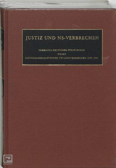 Justiz und NS-Verbrechen / XXXIV