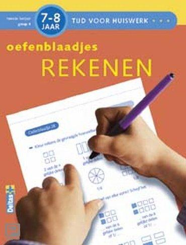 Tijd voor Huiswerk / Oefenblaadjes Rekenen (7-8j.)