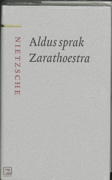 Aldus sprak Zarathoestra - Nietzsche-bibliotheek