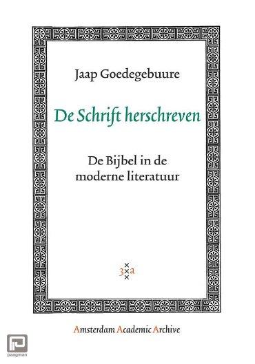De Schrift herschreven - Amsterdam Academic Archive