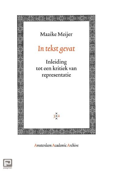 In tekst gevat - Amsterdam Academic Archive