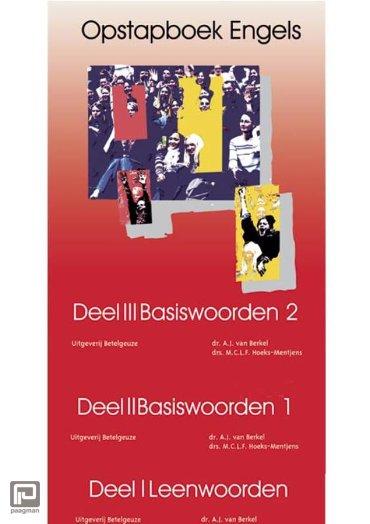 Opstapboek / Leenwoorden, Basiswoorden I, Basiswoorden II / Complete set