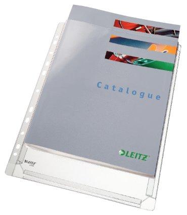 Showtas Leitz 4756 11-gaats PVC 0.17mm glad met expansievouw