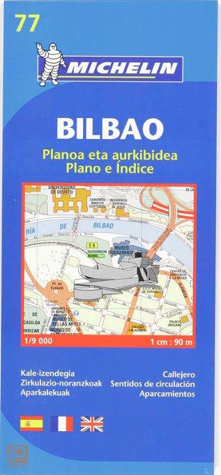 Bilbao - Michelin City Plan 77 - Michelin Stadsplattegrond
