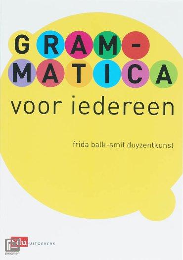 Grammatica voor iedereen