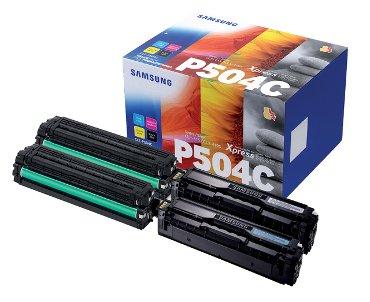 Tonercartridge Samsung CLT-P504C zwart + kleur