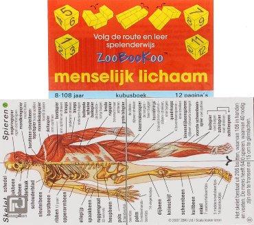Menselijk lichaam - ZooBooKoo kubusboek