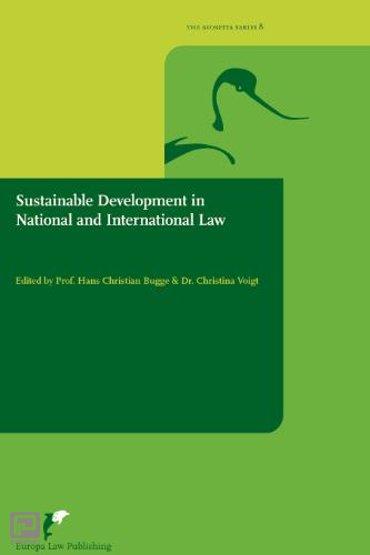 Sustainable development in national and international law - Avosetta Series