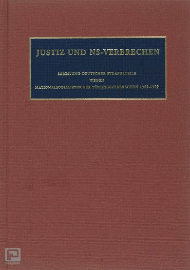 Justiz und NS-Verbrechen / XXXVII - Nazi Crimes on Trial