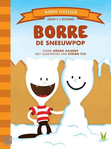 Borre de sneeuwpop - De Gestreepte Boekjes