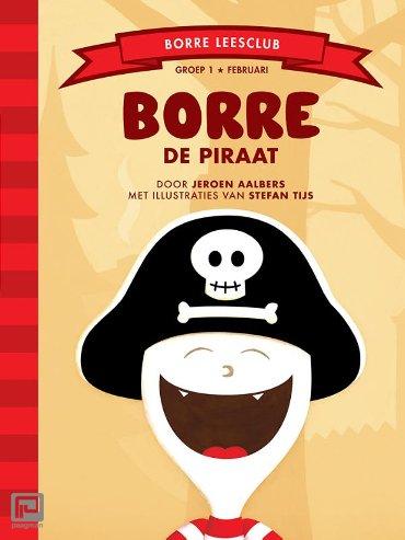 Borre de piraat - De Gestreepte Boekjes