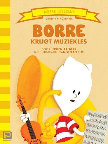 Borre krijgt muziekles - De Gestreepte Boekjes