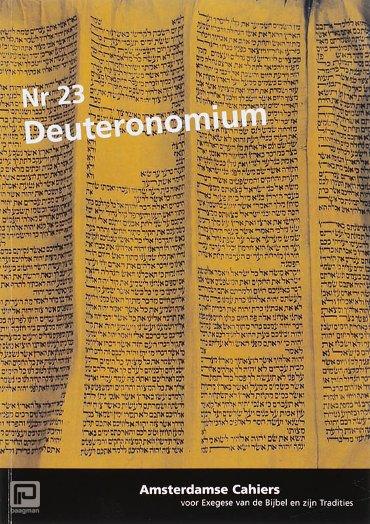 Deuteronomium / 23 - Amsterdamse cahiers