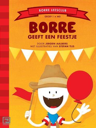 Borre geeft een feestje - De Gestreepte Boekjes