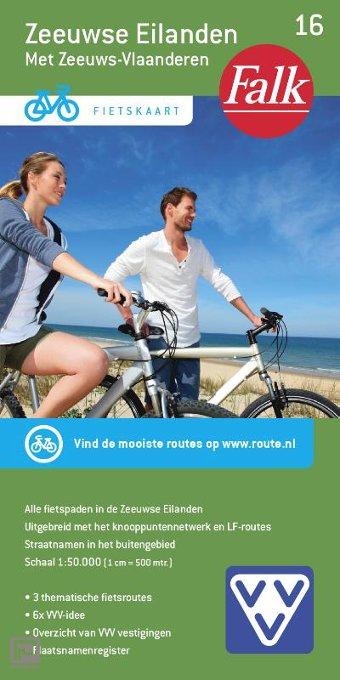 Zeeuwse Eilanden - Falkplan fietskaart