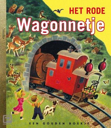 het rode wagonnetje - Gouden Boekjes