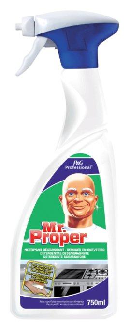 Keukenontvetter Mr Proper spray 750ml