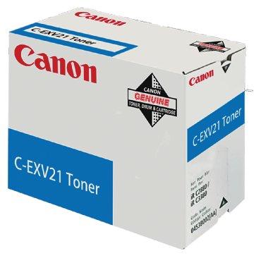 Tonercartridge Canon C-EXV 21 blauw