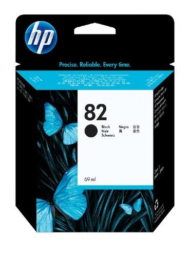Inkcartridge HP CH565A 82 zwart
