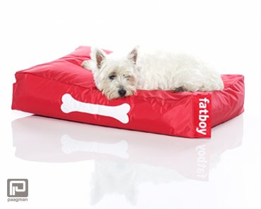 Fatboy doggielounge small rood