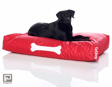 Fatboy doggielounge large rood