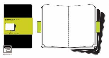 Moleskine cahier journaal XL zwart blanco