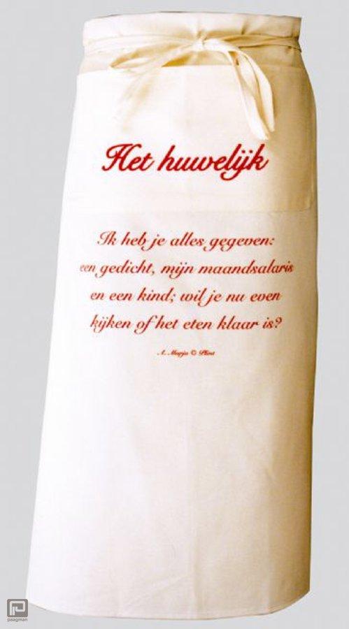 Plint sloof met gedicht het huwelijk a marja isbn