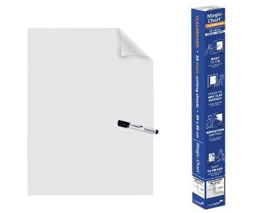Magic-Chart Legamaster whiteboard 60x80cm transparant