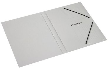 Dossiermap Extension File 70mm 335gr grijs