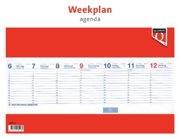 Weekplanagenda 2021 Quantore