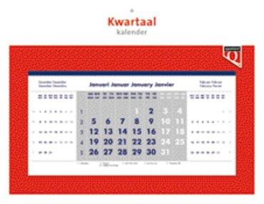 Kwartaalkalender 2020 Quantore