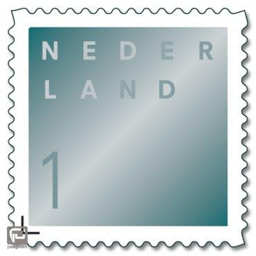Rouwpostzegels op vel, 50 x 1 (t/m 20 gram)