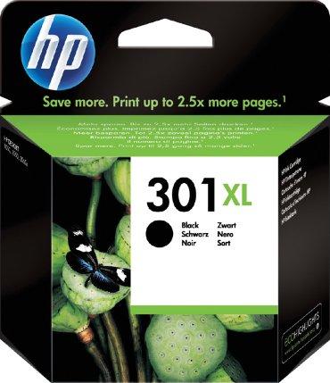 Inktcartridge HP CH563EE 301XL zwart HC