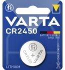 Batterij Varta knoopcel CR2450 lithium blister à 1stuk