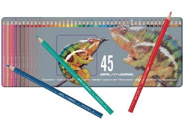 Kleurpotloden Bruynzeel Kameleon metalen blik 45 kleuren